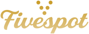 Fivespot Design Gold Fade Logo - Websites for Small Businesses in Boise and Elsewhere